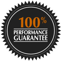 100% Performance Guarantee